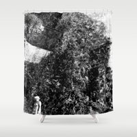 peanuts Shower Curtains featuring boiled peanuts by meredith w ochoa