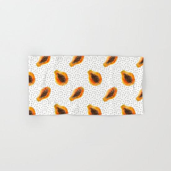 Papaya vibes  Hand & Bath Towel