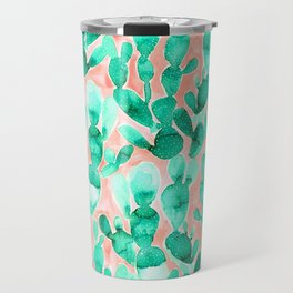 Paddle Cactus Blush Travel Mug
