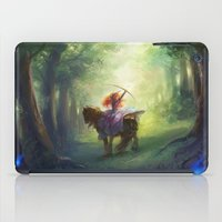brave iPad Cases featuring Brave by hart-coco