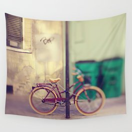 New Orleans Bicycle Wall Tapestry