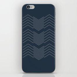 Blue Zags iPhone Skin