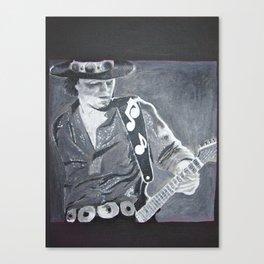 Stevie Ray Vaughan - Guitar Canvas Print