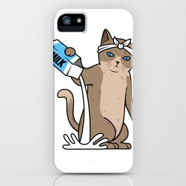 Cat Gang Crew - For The Homies iPhone Case