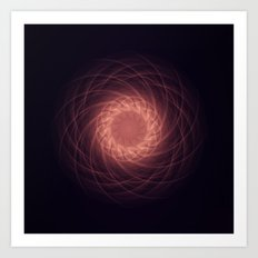 Birth of a soul Art Print
