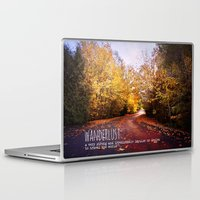 wanderlust Laptop & iPad Skins featuring wanderlust by Sylvia Cook Photography
