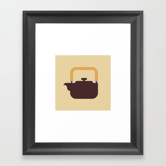 Japan Teapot Framed Art Print