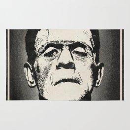 Frankenstein (B&W) Rug