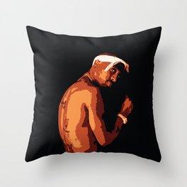 Tu Pac Shakur Tribute Throw Pillow