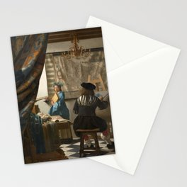 "Johannes Vermeer ""The Art of Painting"" Stationery Cards"