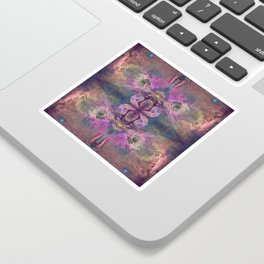 Abstract Blossom Sticker