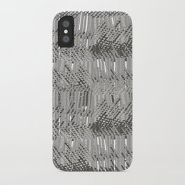 Gray abstract background iPhone Case