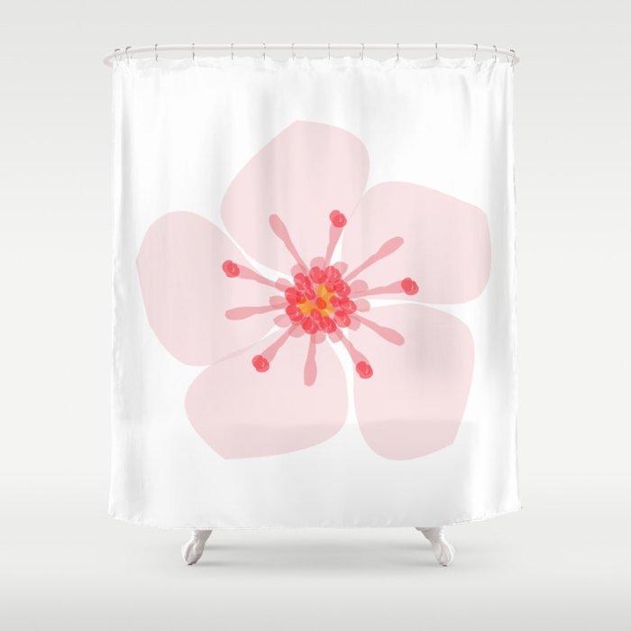 Sakura flower Shower Curtain