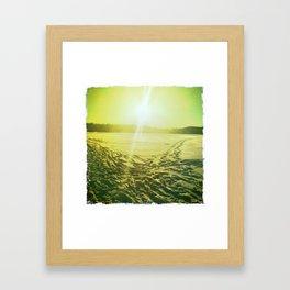 Lac des Pins Framed Art Print