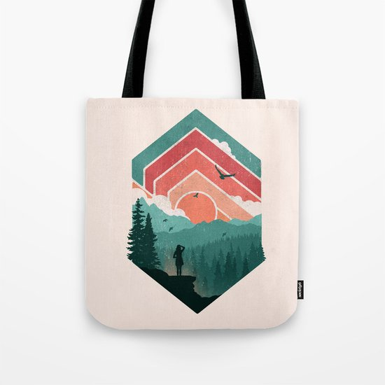 Divided Sky Tote Bag