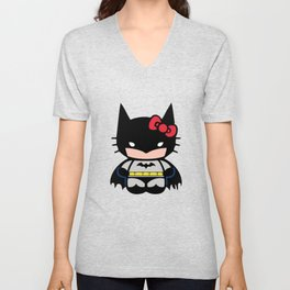 Hello Batty! Unisex V-Neck