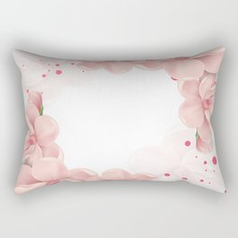 Flower crown Rectangular Pillow