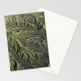 Topography of California Stationery Cards