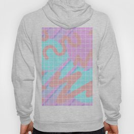 Fuzz Fly By 80s Background Hoody
