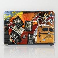 san diego iPad Cases featuring SAN DIEGO by MFY ★ design lab