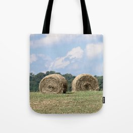 Hay Bales on The Farm Photography Tote Bag
