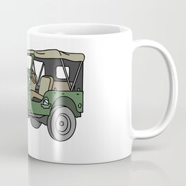 SUV. All-wheel off-road car. Coffee Mug