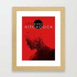 The Birds Of Hitchcock Framed Art Print