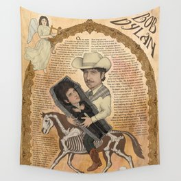 Bob Dylan - Find Out Something Only Dead Men Know Wall Tapestry
