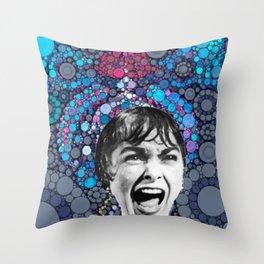 Psycho Design  Throw Pillow