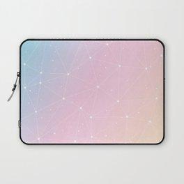Rainbow Watercolor Astronomy Laptop Sleeve
