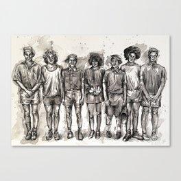80s Kids Canvas Print
