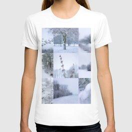Winter mosaic T-shirt
