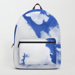 Paint 3 abstract modern art wall art for college dorm school trendy painting brushstrokes water wave Backpack