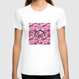 bape camo shark T-shirt