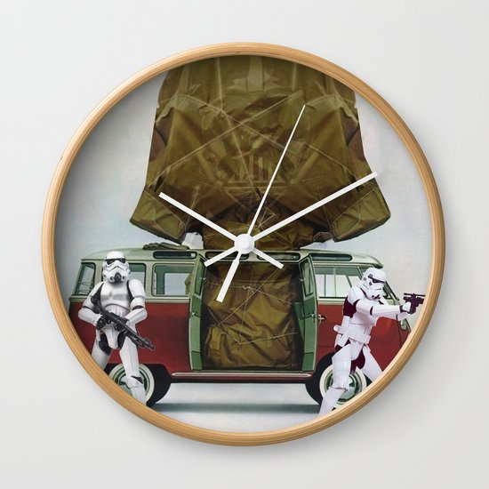 Vader Under Wraps Wall Clock