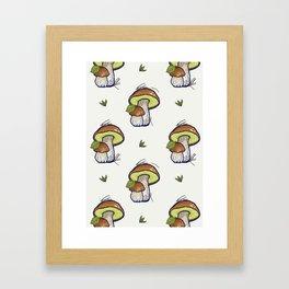 forest's bounty Framed Art Print