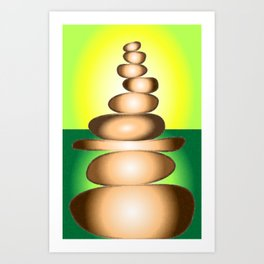CAIRN Earth Art Print