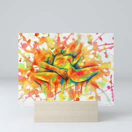 Colorful Climax Mini Art Print