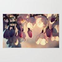 sakura Area & Throw Rugs featuring sakura by italianblue
