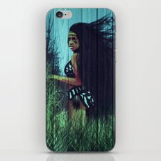 Running With Mother Earth  iPhone & iPod Skin