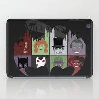 gotham iPad Cases featuring Gotham Villains by I.Nova