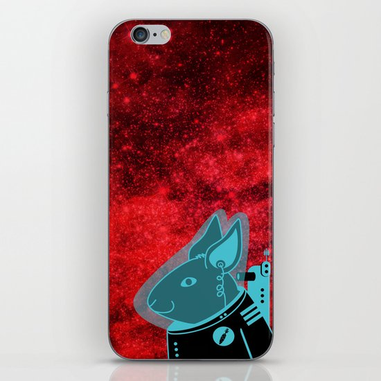 Space Rabbit iPhone & iPod Skin