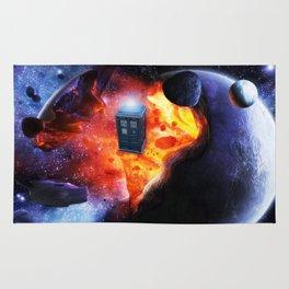 Space Tardis Rug