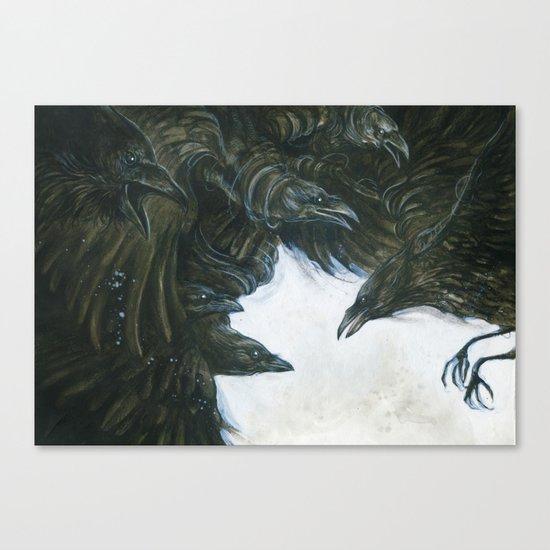 7Ravens - Ravens Canvas Print