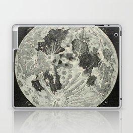 Vintage Moon Map Laptop & iPad Skin