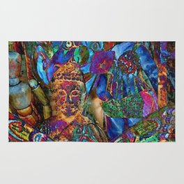 Psychedelic Buddha Rug