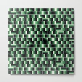 Green set of tiles - movie style Metal Print