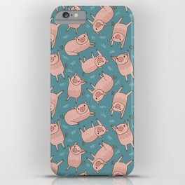 Pattern Project #52 / Piglets iPhone Case