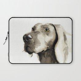 Dogportrait Weimaraner Laptop Sleeve