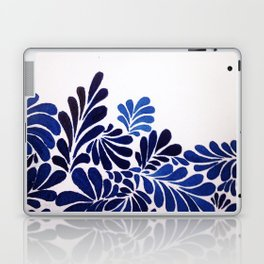 Blue Leaf Laptop & iPad Skin